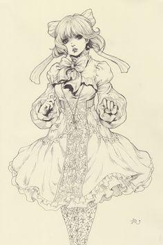 Yasahime (Original Drawings on Storenvy)