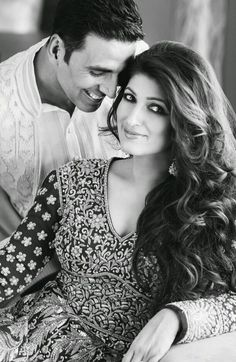 Akshay Kumar and Twinkle Real Life Couples of Bollywood