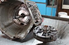 The can be a complicated transmission. Doctor Steve's Transmission Clinic walked us through the rebuild of this electronic gear changer. Chevy Transmission, Automatic Transmission, Gm Transmissions, Medium Duty Trucks, Ls Swap, Truck Repair, Six Speed, Semi Trailer, Fire Trucks
