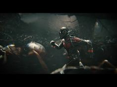 Marvel's Ant-Man trailer 1  - Awesome! The 1st full Ant-Man trailer has landed and its full of microscopic action! Paul Rudd plays an adorable superhero armed with the astonishing ability to shrink in scale but increase in strength.