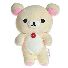 Rilakkuma I eat it, stuffed toy S (Korirakkuma) MD09701 (japan import)