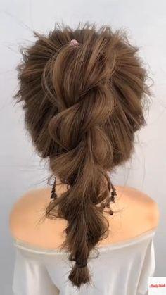 Hairdo For Long Hair, Long Hair Video, Easy Hairstyles For Long Hair, Braided Hairstyles, Hair Twist Styles, Hair Ponytail Styles, Short Hair Styles, Deep Conditioning, Stylish Hair