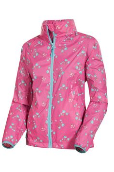 Target Dry Fandango Floral Microdot Elle Waterproof Jacket Target dry have given the classic Mac in a Sac Jacket a feminine twist Offering the same