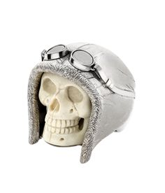 ☆ Carved Mammoth Explorer Skull Ring :¦: By Theo Fennell ☆