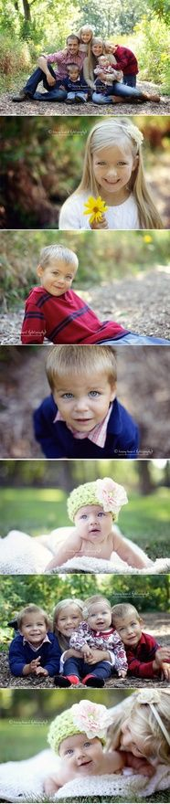 perfect family wardrobe for a fall photo shoot