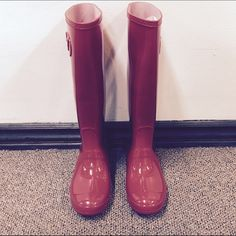 Bamboo 'Padinton-01x' Red Rainboots New in box!   No trading, no low balling  * Offers will not be. considered for this bundle.  * 30% off if you bundle 2+ shoes  * Please visit our website for our website for our new arrivals  * https://www.milanoshoes.com. 😊👠👡👢👟👞 Shoes Winter & Rain Boots