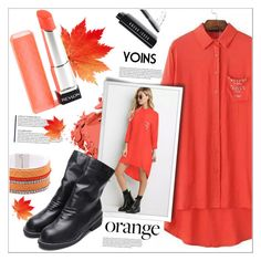 """Orange(yoins2)"" by meyli-meyli ❤ liked on Polyvore featuring Bobbi Brown Cosmetics, orangecrush, yoins, yoinscollection and loveyoins"