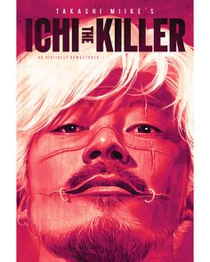 Takashi Miike's cult classic action comedy ICHI THE KILLER Definitive Remastered Edition Blu-ray has been released by Well Go USA Movies To Watch, Good Movies, Mc Bess, The Image Movie, Go Usa, Hd Movies Online, Movie Covers, Friends Show, Movies 2019