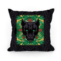 Lurking Panther Pillow
