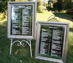 Wedding Reception Seating Chart hand painted von BeeCuriousDesigns, $122.00