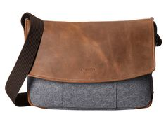 Burnished leather and felt messenger bag from - Men's style, accessories, mens fashion trends 2020 Fashion Bags, Mens Fashion, Leather Briefcase, Men's Briefcase, Leather Men, Leather Jackets, Leather Bags, Pink Leather, Computer Bags