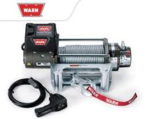 WARN M8000 Winch.... MOUNTED ON TRAILER HITCH SO I CAN PUT ON THE FRONT OR REAR OF MY MOTOR HOME