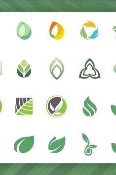 DETAILS The logo includes: 28 leaf logo designs Nachhaltiges Design, Graphic Design, Logos Color, Environment Logo, Education Logo Design, Plant Logos, Logos Ideas, Real Estate Logo Design, Anniversary Logo