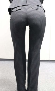 Belle Nana, Secretary Outfits, Tailor Made Suits, Classy Suits, Sexy Hips, Fetish Fashion, Tops For Leggings, Sexy Jeans, Girls Jeans