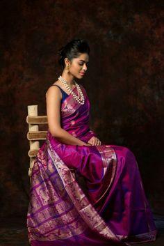 114 best Silk Sarees photos by Baluchari Saree, Kanjivaram Sarees, Kanchipuram Saree, Anarkali, Nalli Silk Sarees, Indian Silk Sarees, Indian Beauty Saree, Saree Blouse Patterns, Saree Blouse Designs