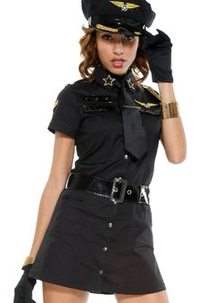 New Black Cool High Neck Cosplay American Pilot Costumes Women Pilot Costumes Cop Costume, Costume Halloween, Halloween Fancy Dress, Halloween Outfits, Pilot Costumes, Halloween Ideas, Career Costumes, Girl Costumes, Costumes For Women