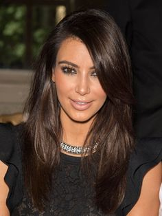 DEEP DARK BROWN...This would be a great bold look to incorporate ...