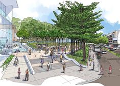Dee Why Town Centre Master Plan | Sydney Australia | PLACE Design Group