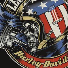 Motor Harley Davidson Shirt Bird