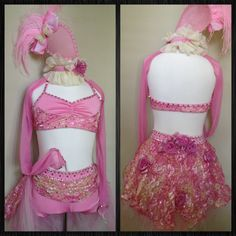 Competition Dance Costume -  What's to come!