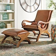 Absolutely love these. Augusto Chair and Ottoman.. Grandinroad.com.. I want this set badly.