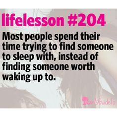 Little Life Lesson #204: Waking Up | GirlsGuideTo
