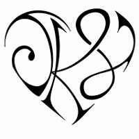 Want this to be my next tattoo but with my initials