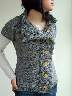 reversible cables, nifty sweater, wish i could pull it off
