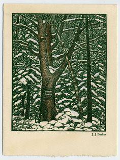 J.J. Lankes, woodcut