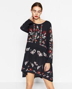 EMBROIDERED DRESS-DRESSES-WOMAN | ZARA United States