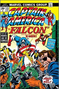 Captain America 173 Gil Kane cover