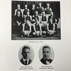 Basketball Team-The TEL-BUCH Yearbook 1917