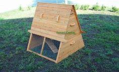 Small chicken coop idea.