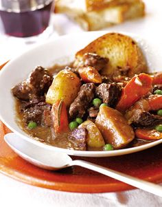 A  bountiful stew that provides the tastes of comfort. Recipe: Parker's Beef Stew Ben Fink  - HouseBeautiful.com