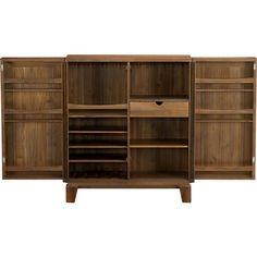 Marin Bar Cabinet in Bar Cabinets & Bar Carts | Crate and Barrel