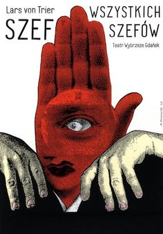 The Boss of it All, Von Trier, Polish Theater Poster