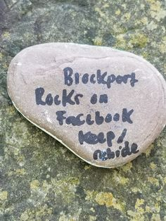 Kindness Rock at Archery Field Overlook