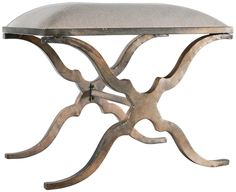 Uttermost Marlena Small Bench - not sure why, but there is something I like about this bench.