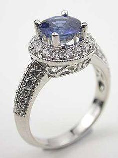 Sapphire antique rings.