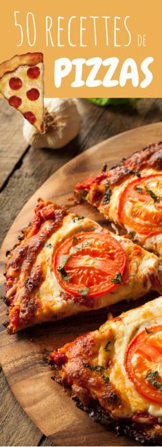 50 recettes de pizzas maison !