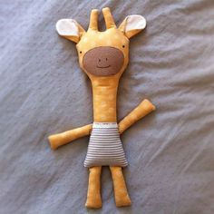 Made this giraffe for Luci's friend, Aziza's bday. Z's favorite animal is a giraffe. Oh my.