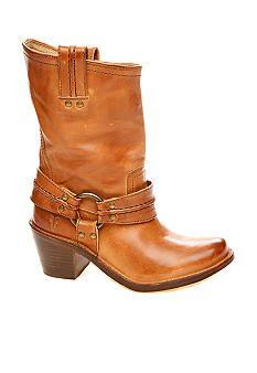 Frye Carmen Harness Boots #belk #shoes #boots