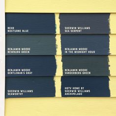 Choosing the Perfect Dark Teal Paint Color Picking the perfect dark teal house paint color Exterior Paint Colors For House, Interior Paint Colors, Paint Colors For Home, Interior Painting, Interior Plants, Outside House Paint Colors, Cottage Exterior Colors, Siding Colors, Dark Blue Houses