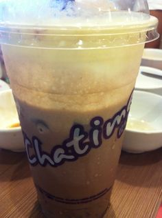 Chocolate Mousse from Chatime..