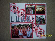 Hawaii- Luau - Scrapbook.com