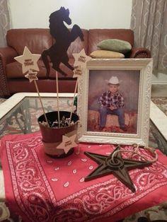 Cowboy Party decorations
