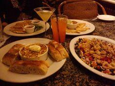 Crab & Artichoke dip, Fiesta Calamari, Potstickers, & quesadillas | Yelp