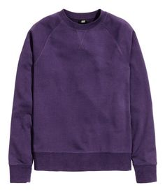 8da42c5d94 Sweatshirt with long sleeves and wide ribbing at cuffs and hem. H m  Fashion