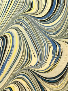 Modern 20th c. marbled paper, Serpentine pattern Artist: Guyot, Don Studio Name: Colophon Hand Bindery Place of Production: United States -- Washington (State) -- Seattle Date	: 1978