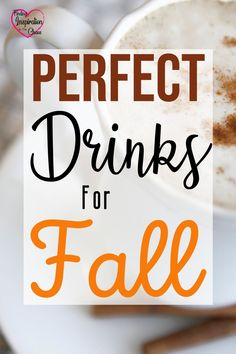 It is almost that time of year! Why not start early? Put a little Fall in your cup. Hot drinks, cocktails, and more...40+ Drink Recipes Perfect for Fall #fall #autumn #drinkrecipes #hotchocolate #pumpkinspicelatte #autumncocktails #sangria #sangriaforfall #findinginspirationinthechaos @lanapummill